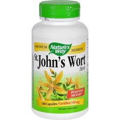Nature's Way St John's Wort Herb - 180 Capsules - 0903682