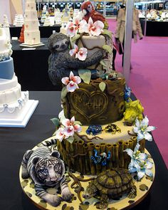 I am such a sloth I love this one!  CAKE 2012 at the NEC