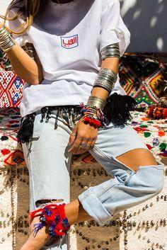 bakchic | Women's Boho Clothing & Bohemian FashionFashion 2016 | Fashion 2016 - Tahuska Linen Embroidered White TShirt