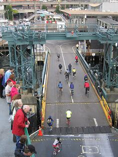 Hundreds of Washingtonians use our state ferries for a bike-ferry-bike commute daily.