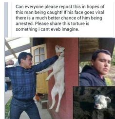 Man should b punished!!!!!