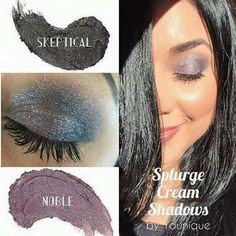Younique Splurge Cream Eye Shadow look in Skeptical and Noble Shop at www.youniqueproducts.com/kirstyjashforth