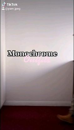 Monochrome, Street Style, Fashion Outfits, Inspiration, Home Decor, Biblical Inspiration, Fashion Suits, Decoration Home, Monochrome Painting