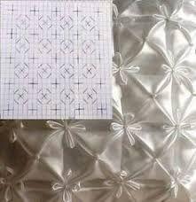 Resultado de imagen para cojines drapeados patrones en forma de corazon