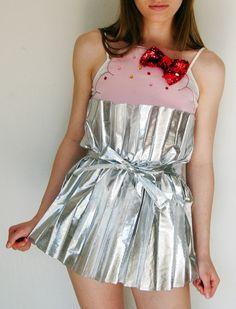 Cupcake Dress #DIY #halloween #costume #idea #ideas