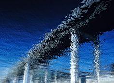 Waterside bridge by Takashi