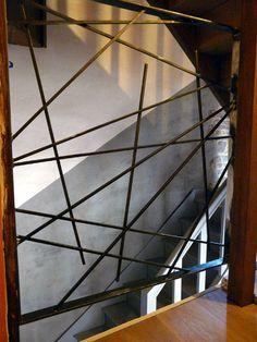 treppen in edelstahl edestahl treppengel nder treppe. Black Bedroom Furniture Sets. Home Design Ideas