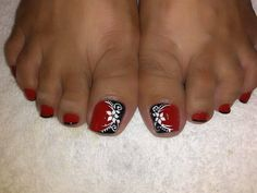 Cute Toe Nails, Sexy Nails, Cute Toes, Toe Nail Art, Trendy Nails, Toe Nail Designs, Pedicure Nails, Flower Nails, Matte Nails