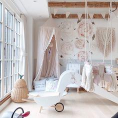 Eclectic Bathroom, Childrens Room Decor, Cozy Bedroom, Kidsroom, Retro, Soft Furnishings, Scandinavian Design, Girl Room, Wall Design