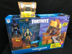 Fortnite Toys - Turbo Builder Set with 2 Figures + Loot Chest - 14th Birthday, Birthday List, Epic Fortnite, Epic Games Fortnite, Xbox One Console, Minecraft Birthday Party, Backyard For Kids, Geek Gifts, Funny Wallpapers