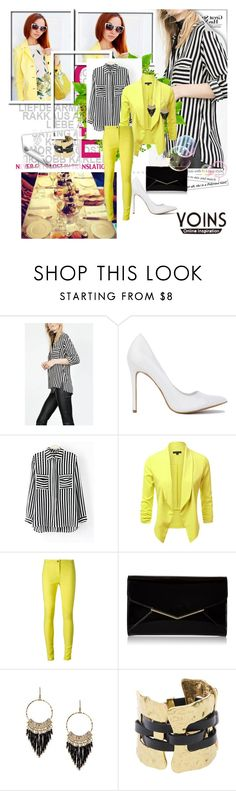 """""""Yoins shirt"""" by gold-phoenix ❤ liked on Polyvore featuring Ann Demeulemeester, Furla and yoins"""
