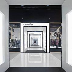 Loja Catalog, em Pequim, China. Projeto do escritório Nendo. #moda #atitude #fashion #fashionattitude #lojaconceito #conceptstore #storedesign #interior #interiores #artes #arts #art #arte #decor #decoração #architecturelover #architecture #arquitetura #design #projetocompartilhar #davidguerra #shareproject #catalog #pequim #beijing #china #nendo