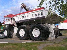 Giant Mining Dump Truck