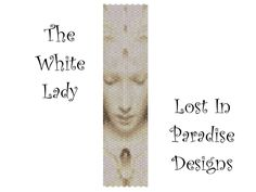 Peyote Bracelet Pattern - The White Lady - Peyote Stitch Pattern (Buy 2 get one Free). $6.50, via Etsy.