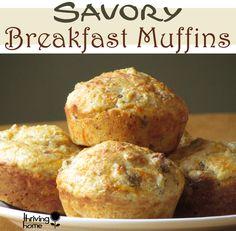 Savory Breakfast Muffins: A Healthy Breakfast Muffin Recipe