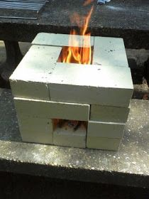 The Mama Crow: Simple Living Adventure: My Rocket Stove