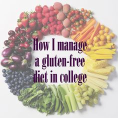 Mariah's college choice depended on well they could accommodate her dietary needs. Lear how she manages a gluten-free diet will in school. #College #GlutenFree #Diet