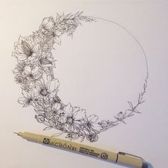 zentangle moon phase tattoos - Google Search