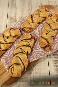 These Braided Chocolate Twists treats are perfect for dessert!