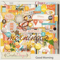 Good Morning by Cornelia Designs http://store.gingerscraps.net/Good-Morning-by-Cornelia-Designs.html