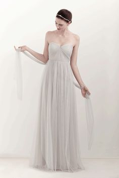 Gorgeous bridesmaid dress - can be worn 7 different ways! #bhldn