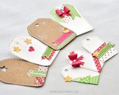 Feliz Navidad!  / Last minute Christmas tags!