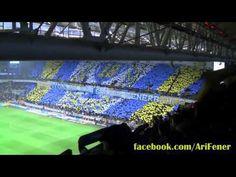Fenerbahçe Bursaspor Maçı - Mohikan ve Koreografi Şovu - YouTube