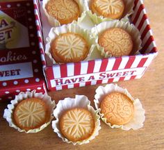 1:12th scale miniature cookies/biscuits from The Goddess of Chocolate ... IMG_4404 | Flickr - Photo Sharing!