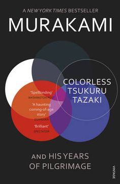 Colorless Tsukuru Tazaki and His Years of Pilgrimage. Recently shocked to find a Murakami that I haven't read yet...