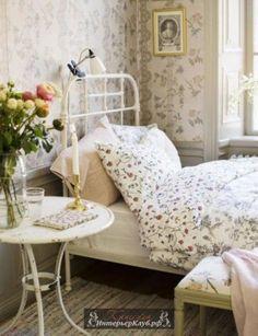 26 Интерьеры спальни в стиле прованс, прованс в интерьере спальни фото, дизайн интерьера спальни сти
