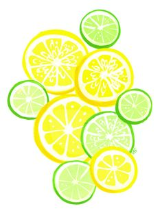 Limoncello Print by shopannshen on Etsy - Just looks like summer. Limoncello, Food Illustrations, Illustration Art, Lemon Print, Fruit Print, Edible Art, Kitchen Art, Food Art, Print Patterns
