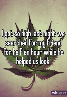 15 Wacky Stoner Confessions