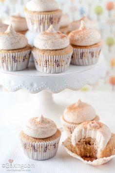 vanilla chai latte cupcakes