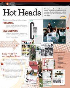 yearbook class layout headline - Google Search