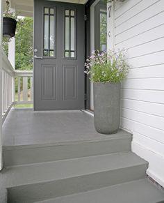 Bildresultat för snedtak entre Garage Doors, Villa, Outdoor Decor, House, Inspiration, Future, Home Decor, Tips, Lawn And Garden