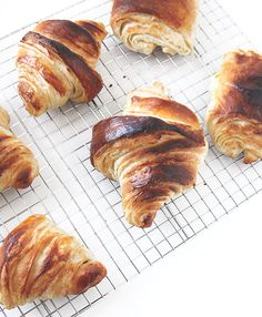Homemade Croissants.