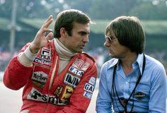 Carlos Reutemann and Bernie Ecclestone, 1978.