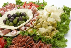 Antipasto is generally the first course of a traditional Italian meal, and consists of a heaped platter of meats, vegetables, and cheeses, to be shared among the diners and consumed before the start of the meal. In order to kick an Italian meal off in style, serve up an Antipasto platter, and surprise your guests. Just make sure all your meats and cheeses are cut in a similar fashion, to make the layering look more attractive, symmetrical, and streamlined.Prep time: 45 minCook time: 20 ...