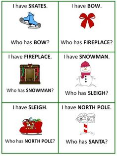 Christmas Riddles: Riddle the Room, I Have Who Has Game Christmas Riddles, Funny Christmas Poems, Christmas Games, Christmas Holidays, Literacy Skills, North Pole, Vocabulary Words, Best Teacher, Word Work