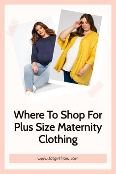 So you're fat and pregnant! Congratulations! You've now reached the 3rd level of plus size clothes shopping hell that is reserved for those of us who dare to ever think that maybe we could have an adorable plus size pregnancy filled with equally adorable plus size maternity clothing! Achievement unlocked! Friends Fashion, All Fashion, Spring Fashion, Maternity Clothing, Maternity Fashion, Plus Size Fashion Tips, Plus Size Outfits, Plus Size Pregnancy, Edgy Outfits