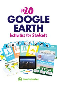 20 Google Earth Activities for Students in the Classroom Teaching Technology, Teaching Resources, Flip Book Template, Math Textbook, Teaching Geography, Interactive Stories, Classroom Environment, Google Classroom, Activities To Do