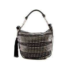 Tassel and Bling Bag, Black Journeys Shoes