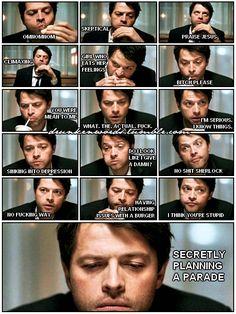 Misha has so many thoughts and feelings. Lol