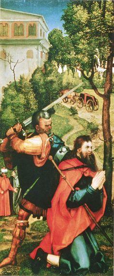 File:Albrecht Dürer 1508 Martyrdom of James son of Zebedee brother of John (Acts Halle, Albrecht Dürer, Crime, Frankfurt, Landsknecht, Late Middle Ages, Religious Images, John The Baptist, Art Database