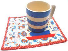 Auld English Mug Rug Tutorial Part 3: Finishing the Mug Rug   FaveQuilts.com