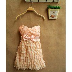 Junior Bridemaid's Dress