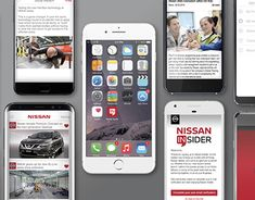 Working On Myself, New Work, Nissan, Behance, Branding, App, Iphone, Gallery, Check