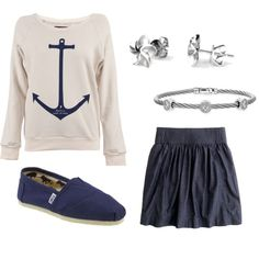 Comfy Nautical, created by alexcorby on Polyvore