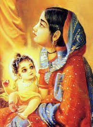 baby krishna yashoda: