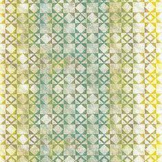 Collection papier peint Bensimon. Modèle Mexicain Vert. Vinyl sur intissé. Largeur 53 cm. ©Lutèce – Home autour du monde